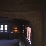 Early architecture inside the Old Quaker Meetinghouse (Flushing, NY)